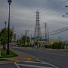 Power lines Behind the Ship Yard in Halifax Nova Scotia