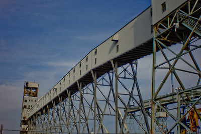 Structure for Loading Freight Ships in Halifax Nova Scotia