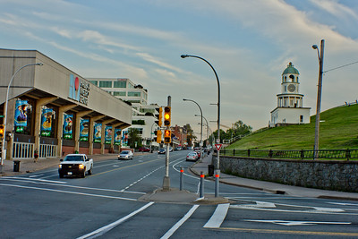 Yellow Light in Halifax Nova Scotia