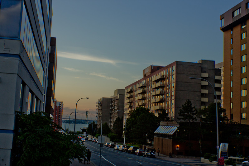 Sunset at the End of Day in Halifax Nova Scotia