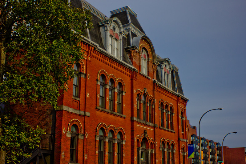 Brick Architecture in Halifax Nova Scotia