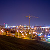 City Night Lights in Halifax Nova Scotia