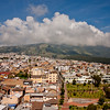 Mountains and City in Quito Ecuador
