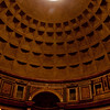 Pantheon Dome in Rome Italy