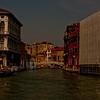 Bridge and Buildings in Venice Italy