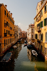 Water and Architecture in Venice Italy