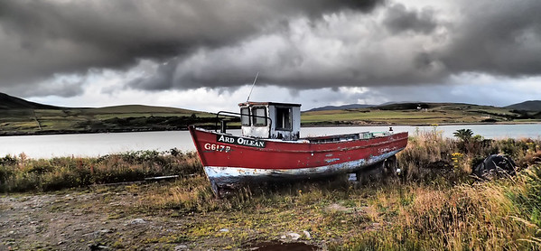 Photographing old boats in Ireland is my favoite thing!
