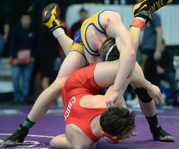 Action from the Northern Section Masters Wresting Tournament in Redding on Friday, February 15. (Matt Bates -- Enterprise-Record)