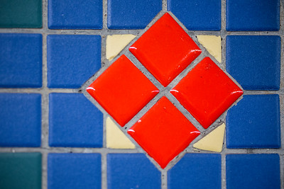 Square mosaic
