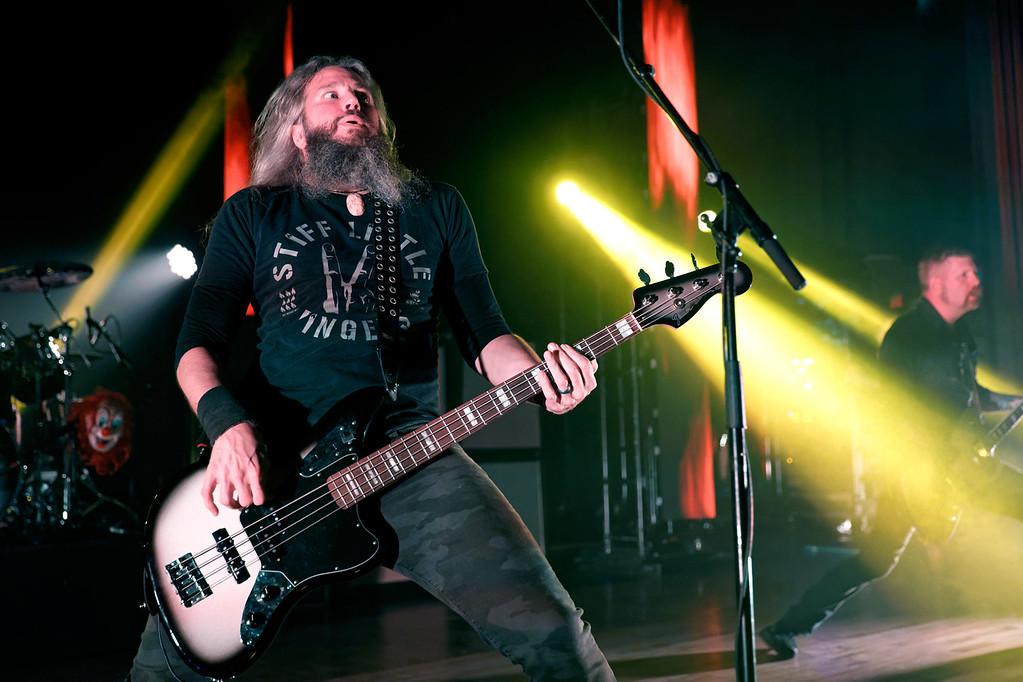 . Mastodon live at Royal Oak Music Theatre on 5-16-17