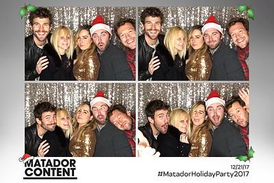 Matador Content Holiday Party Prints