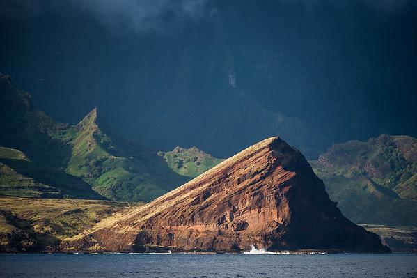 Ua Huka - Marquises Nord - Vue de la mer
