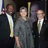 Executive VP and Provost Dr. Steve O. Michael, College of Medicine Dean, Dr. Deborah Prothrow-Stith and President and CEO  Dr. David M. Carlisle