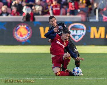 DC United vs Real Salt Lake, Rio Tinto Stadium, 5/12/2018