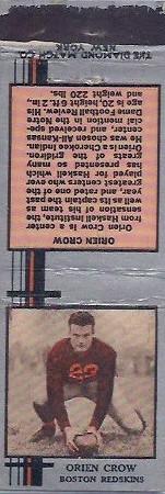 1933 Diamond Matchbooks Orien Crow