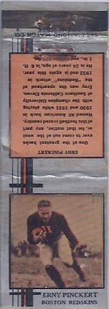 1933 Diamond Matchbooks Erny Pinckert