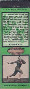 1934 Diamond Matchbooks Jack Roberts