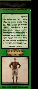 Paul Collins 1934 Diamond Matchbooks Green Variation