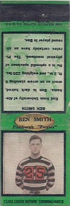 1934 Diamond Matchbooks Ben Smith