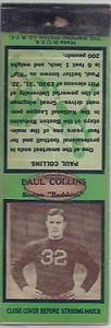 1935 Diamond Matchbooks Paul Collins