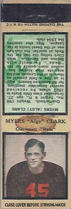 1934 Diamond Matchbooks Algy Clark
