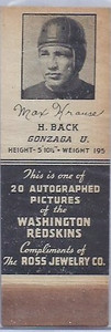 1939 Ross Jewelry Matchbooks Max Krause
