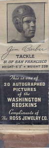 1939 Ross Jewelry Matchbooks Jim Barber