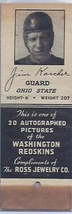 1939 Ross Jewelry Matchbooks Jim Karcher