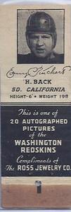 1939 Ross Jewelry Matchbooks Erny Pinckert
