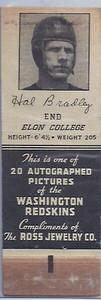 1939 Ross Jewelry Matchbooks Hal Bradley