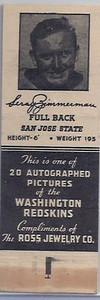 1940 Ross Jewelry Matchbooks Leroy Zimmerman