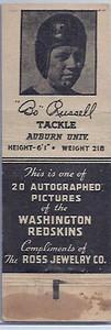 1940 Ross Jewelry Matchbooks Bo Russell