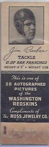 1940 Ross Jewelry Matchbooks Jim Barber