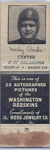 1939 Ross Jewelry Matchbooks Mickey Parks