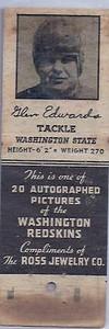 1940 Ross Jewelry Matchbooks Turk Edwards