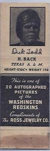 1940 Ross Jewelry Matchbooks Dick Todd