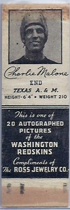 1939 Ross Jewelry Matchbooks Charlie Malone