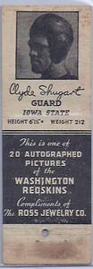 1940 Ross Jewelry Matchbooks Clyde Shugart