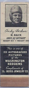 1939 Ross Jewelry Matchbooks Andy Farkas