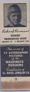 1940 Ross Jewelry Matchbooks Richard Farman