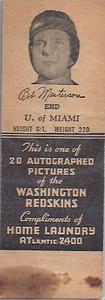 1941 Home Laundry Matchbooks Bob Masterson