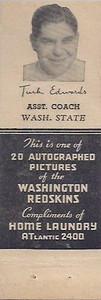 1942 Home Laundry Matchbooks Turk Edwards