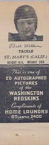 1942 Home Laundry Matchbooks Bill Wilken