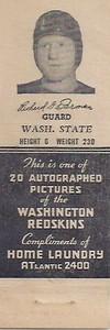 1942 Home Laundry Matchbooks Dick Farman