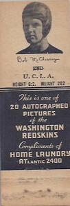 1942 Home Laundry Matchbooks Bob McChesney
