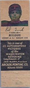 1951 Arcade Pontiac Matchbooks Ed Quirk