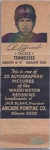 1951 Arcade Pontiac Matchbooks Paul Lipscomb