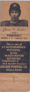 1951 Arcade Pontiac Matchbooks James Peebles