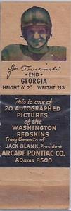 1951 Arcade Pontiac Matchbooks Joe Tereshinski