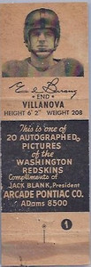 1951 Arcade Pontiac Matchbooks Ed Berrang